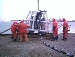 HYDRAULIC DREDGE PUMP FOR OFFSHORE OIL PLATFORM