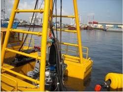 STEEL CABLE DREDGER