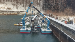 PUMPING STATIONS FOR DREDGING PUMP
