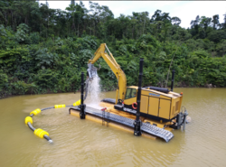 HYDRAULIC DRIVEN SAND RECLAMATION PUMPS