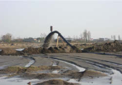 IRRIGATION SYSTEM AND SOIL MOVING PUMPS