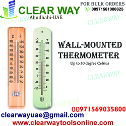 WALL MOUNTED THERMOMETER DEALER IN MUSSAFAH , ABUDHABI , UAE