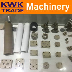 PEEK Parts in Food Processing and Filling Machinery Industry Polyetheretherketone Components Clamp Column Fork Roller
