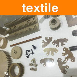 PEEK Parts for Textile Equipment Machinery Industry Components Slider Wear Strip Clamp Strip Shield Polyetheretherketone Parts