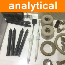 PEEK Parts in Analytical Instruments Industry Polyetheretherketone Components Fittings Wear-resistant Clamp Column Chromatograph