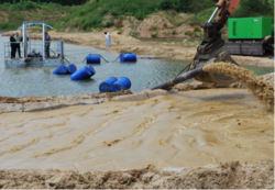 SUBMERSIBLE DREDGE PUMP FOR SAND EXTRACTION