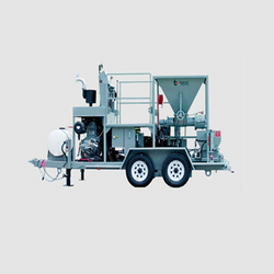 CONCRETE SLURRY SPRAYING MACHINE