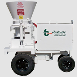 GUNITE SPRAYING MACHINE