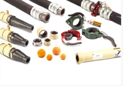 COUPLING ACCESSORIES FOR SHOTCRETING