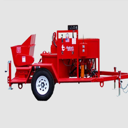 SEA WALL REPAIRING GUNITE MACHINE