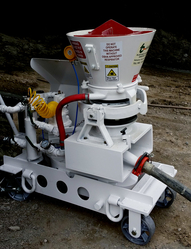ELECTRIC DRIVEN GUNITE MACHINE