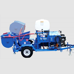 DIESEL ENGINE DRIVEN SHOTCRETING MACHINE