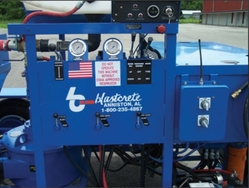 CONTROL UNIT FOR GUNITE PUMP