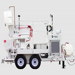 GUNITE SPRAYING SYSTEM