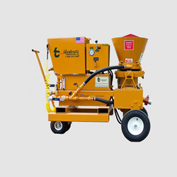 HIGH PRESSURE SHOTCRETE SPRAY PUMP