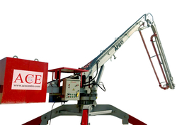 MOBILE CONCRETE PLACING BOOM