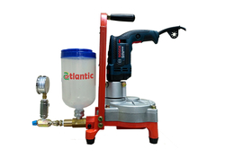CORROSION RESISTANT CHEMICAL SPRAYING MACHINE