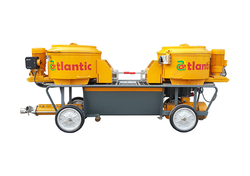 STATIONARY CONCRETE PUMPING MACHINE