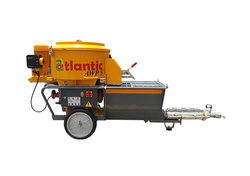 SPRAY PLASTERING EQUIPMENT