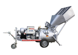 ELECTRIC CONCRETE PAN MIXER