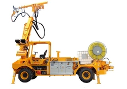 AUTOMATIC SPRAYING MACHINE FOR WATERPROOFING