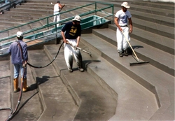CONCRETE RESURFACING MACHINE