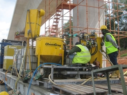 CHEMGROUT MACHINE FOR ROOF WATER PROOFING