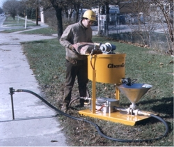 SAND AND CEMENT SCREEDING PUMPS