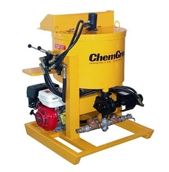 GAS POWERED, HYDRAULIC DRIVEN, SKID MOUNTED, GROUT PUMP