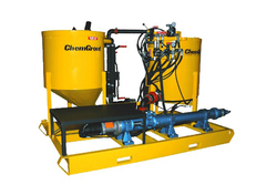 GROUT PUMPS AND COLLOIDAL MIXERS ON HIRE