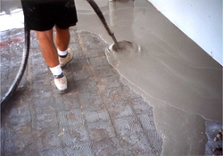 GROUT PUMP FOR CONCRETE FLOORS