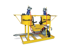 COMPRESSED AIR SPRAYING MACHINE