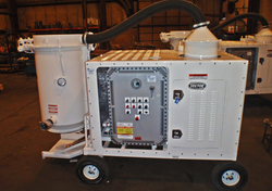 ABRASIVE CHEMICAL WASTE COLLECTION SYSTEM
