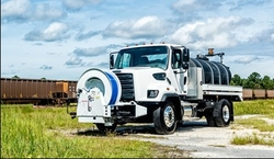 STREET DISINFECTION AND FLUSHING TRUCK