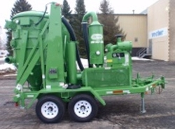 COMMERCIAL WASTE COLLECTION VACUUM PUMP
