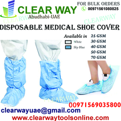 DISPOSABLE MEDICAL SHOE COVER DEALER IN MUSSAFAH , ABUDHABI , UAE