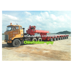 Goldhofer Hydraulic Multi Axles Modular Vehicle | Truck Trailer | Low Loader | Flatbed Trailer