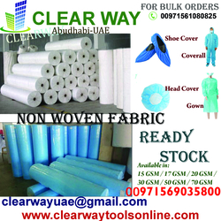 NON WOVEN FABRIC DEALER IN MUSSAFAH , ABUDHABI , UAE from CLEAR WAY BUILDING MATERIALS TRADING