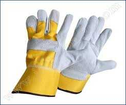 YELLOW LEATHER GLOVES from AL KAHF GENERAL TRADING LLC