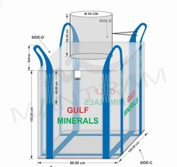 New Jumbo Bag  from GULF MINERALS & CHEMICAL INDUSTRIES