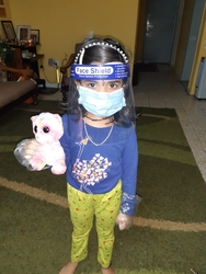 CHILDREN FACE SHIELD IN UAE from AIPL TAPES INDUSTRY LLC