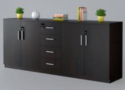 File cabinet and storage
