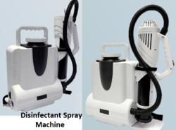 Disinfectant Spray Machine for sanitizing. Disinfection process Spray Machine for santization. from SB GROUP FZE LLC