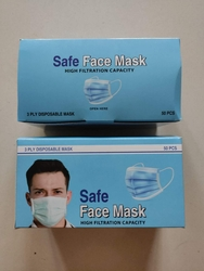 3 PLY DISPOSABLE DUST MASK (Face mask)