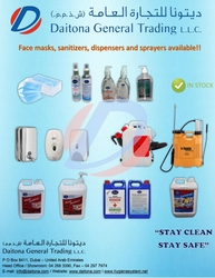 Disinfectant and Hand Sanitizers Dubi UAE