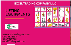 LIFTING EQUIPMENT SUPPLIER from EXCEL TRADING COMPANY L L C