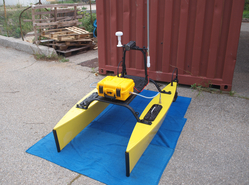 UNDERWATER ROV FOR OFFSHORE CONSTRUCTION