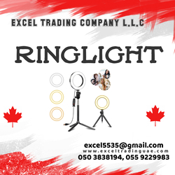 RINGLIGHT FOR TIKTOK VIDEO FILM ETC SUPPLIERS AND DEALERS IN ABUDHABI,MUSSAFAH,UAE