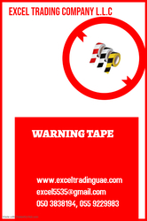 WARNING TAPE SUPPLIERS AND DEALERS IN ABUDHABI,MUSSAFAH,UAE