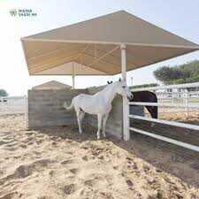 HORSE STABLE SHADES SUPPLIERS 0543839003 from CAR PARKING SHADES SUPPLIER